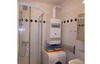 bathroom with shower and washing machine in your comfortable holiday home Vienna
