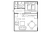 plan of your cosy condo in Vienna